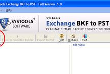 Exchange BKF to PST