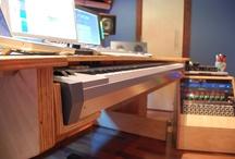 Studio desk ideas.