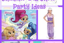 Aimee's 4th Birthday Party Ideas / Party ideas for 4th birthday theme: Paw Patrol Shimmer and Shine Frozen