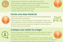 Infográficos de Conteúdo  Português