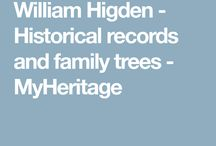 HIGDENFAMILY TREE