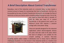 A Brief Description About ‪#‎ControlTransformer‬