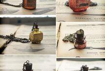 Miniatures in bottles