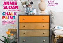 Annie Sloan press / Published info on Annie Sloan and Chalk Paint®