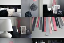 Zoey / All things Zoey. Pink and black room...NO ZEBRA.