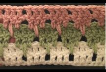 Crochet stitch library