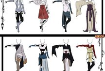 Character Designs and Outfits