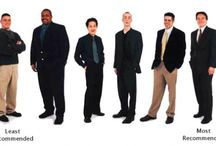 Men:  Suggested Interview Attire   / These suggestions apply to any search you are in:  internship, job or graduate school.  Let these tips help you make the best first impression possible. / by Career Development Ctr SUNY Plattsburgh