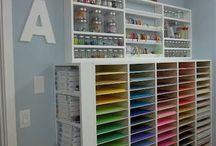 craftroom ideas / ideas for craftrooms