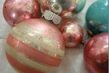 vanhat joulukoristeet