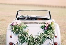 Svatba-oblouk, auto, vzpominky