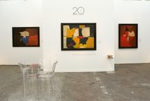 SERGE POLIAKOFF at FIAC 2013 / In celebration of our 20th anniversary and coinciding with the rétrospective exhibition of the work of Serge Poliakoff at the Musée d'Art Moderne de la Ville de Paris, Applicat-Prazan presents a Serge Poliakoff exhibition. #SergePoliakoff