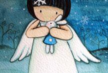 Angel dekor