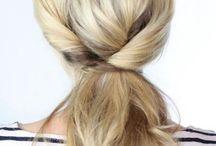 Haare & Frisuren / schöne Haare & einfache Frisuren für langes Haar