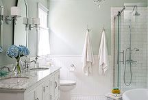 Bathroom / Ideas for design, decor, and remodel for bathrooms big and small.