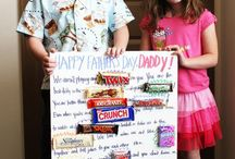 Father's Day Ideas / Special gifts for Dad, made with love