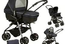 CARRITOS DE BEBÉ DE TRES PIEZAS / Cochecito de bebé de 3 piezas de marcas como Jané, Nurse y Chicco.
