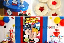 Captain America inspired Party