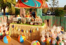 Hawaiian Luau Summer Party Ideas