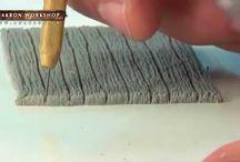 Vidéo tutorielle pour réaliser des planches miniatures...