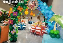 Moana Decorations / Indoor party place for any decoration, moana decoration on hialeah Gardens