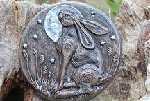 Hare Sculptures