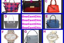 TGIF CHOICE AUCTION / Choice Auction Tonight featuring Michael Kors, Vince Camuto, Isaac Mizrahi, Coach, Kate Spade and Brahmin sellers 10:30  pm EST OneCentChic.com