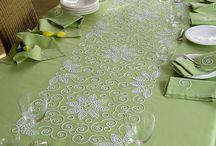 yesil masa örtüsü
