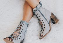 Lace up shoes/ booties