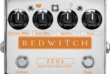 Zeus Bass Fuzz Suboctave / NEW from Red Witch October 2015!  Zeus. A bass Fuzz suboctave pedal so good, your guitar player will already be plotting to steal it!