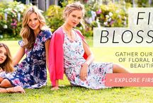 First Blossom Spring 2014 / Get into the spirit of the season with EziBuy's new Spring 2014 collection - bursting with soft pastel pinks, fresh florals and floaty layers. / by EziBuy