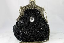 Evening Bags, Hats, and Accessories..... Vintage / I am fascinated by period pieces. These hats, bags, and vintage accessories are to die for!