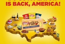 Do Us A Flavor: Tastes of America / Do Us A Flavor is back and we're looking for the best Tastes of America! Enter your flavor for a chance to win $1 million! www.DoUsAFlavor.com / by Lay's