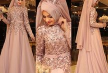 Dress with hijab