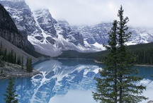Places I'd like to Visit / Moraine Lake, Alberta, Canada.