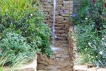 Water features, rills, fountains for town gardens and romantic country gardens