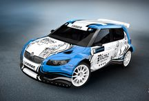 Pavel Vimmer / Design for FIA European Rallycross Championship season 2015