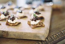 Hors d'oeuvres + Snacks / by Caitlin Cassidy
