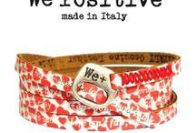 We Positive bracelets / We Positive bracelets  Made in Italy
