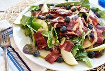 cooking & eating - salad