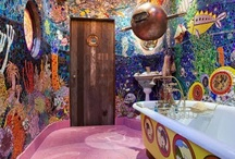 bathrooms / by Laurie Treuvey
