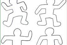 Keith Haring -kunstproject groep 3/4