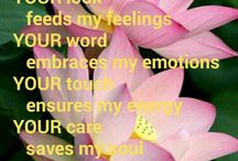 YOU are my emotions