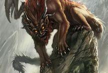 Mystic_Zgr / Mystic, frp, rgp, mythology, mit, gods, frp, rpg, creature, creatures, fantasy