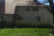 old schoolhouse, farm / stara wiejska szkoła z zabudowaniami gospodarczymi, która jest pieczołowicie remontowana przeze mnie