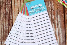 Happy Birthday! / Parties, printables, gifts, traditions - ideas for making birthdays special. / by Rebecca - Simple as That Blog