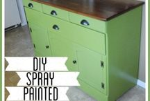 DIY- Spray Paint / DIY / by Blessed With Grace by Lisa King Morgan