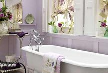 Lilac Bathrooms / I would like to decorate my bathroom is shades of lilac.