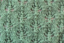 knitting stitches / patterns and tip