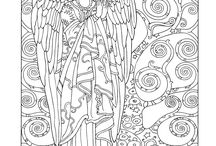 COLOURING ANGELS
